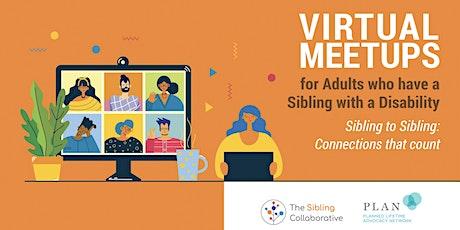 Virtual Sibling Meetups tickets