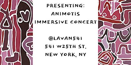 Animotis Art Immersive Concert tickets