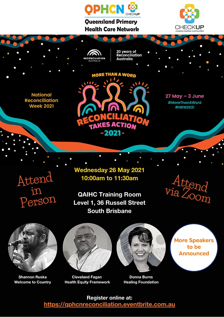 Queensland Primary Health Care Network event - Reconciliation image