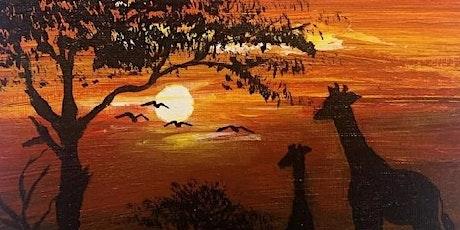 African Sunset Paint Night tickets
