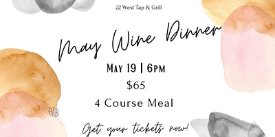 May Wine Dinner