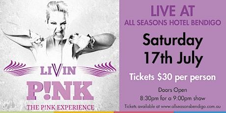 Livin P!NK tickets
