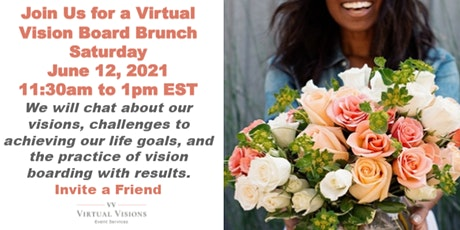 Virtual Vision Board Brunch tickets