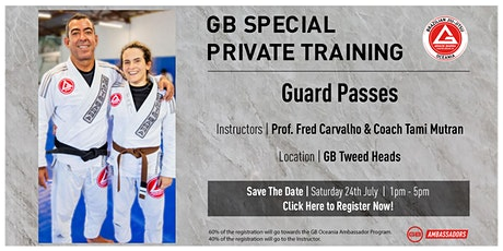 GB Special Private Training At GB Tweed Heads tickets