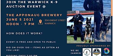 Warwick PD K9 Fundi tickets