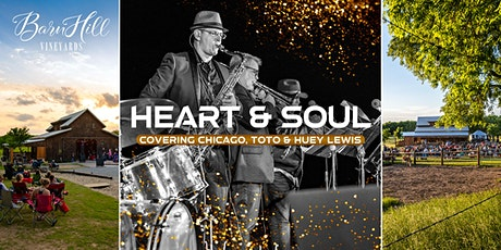 FIREWORKS! Chicago/Toto/Huey Lewis ONLY covered by Heart and Soul Band tickets