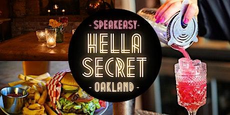 HellaSecret  Speakeasy Comedy & Cocktail Night : Oakland / 2021 tickets