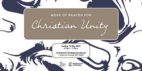 Week of Prayer for Christian Unity Service tickets
