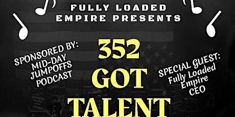 352 Got Talent tickets