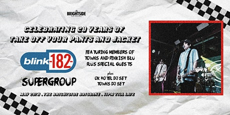 Blink 182 Supergroup tickets