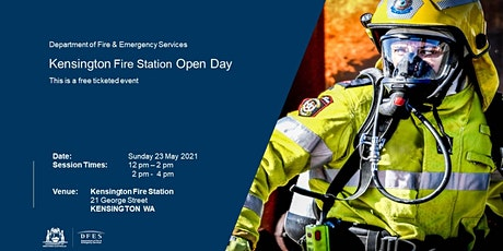 Kensington Fire Station Public Open Day tickets