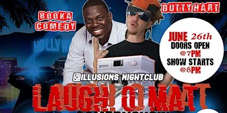 LAUGH-O-MAT tickets