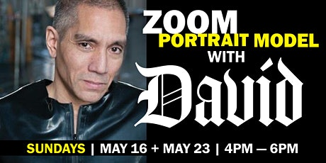 Portrait Model ZOOM with David MODELLO (Long Pose) tickets