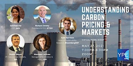 Understanding Carbon Pricing & Markets tickets