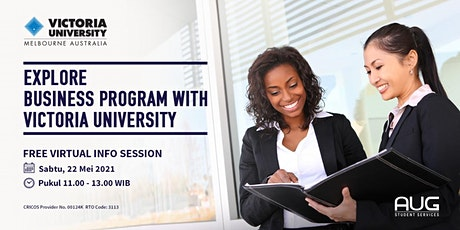 Explore Business Program with VU- Virtual Info Session tickets