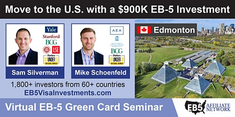 U.S. Green Card Virtual Seminar – Edmonton, Canada tickets