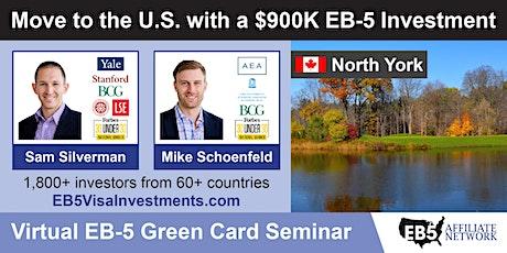 U.S. Green Card Virtual Seminar – North York, Canada tickets