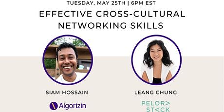 Effective Cross-Cultural Networking Skills to Advance Your Career tickets