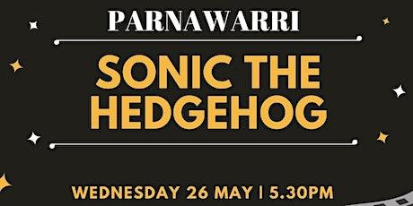 Sonic The Hedgehog Movie at Parnawarri tickets