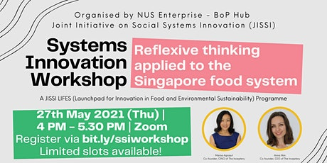 Reflexive Thinking Applied to the Singapore Food System tickets