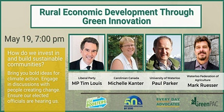 Environmental Townhall: Rural Economic Growth Through Green Innovation tickets