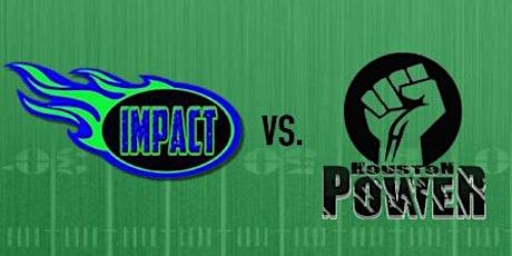 Arlington Impact  vs Houston Power tickets