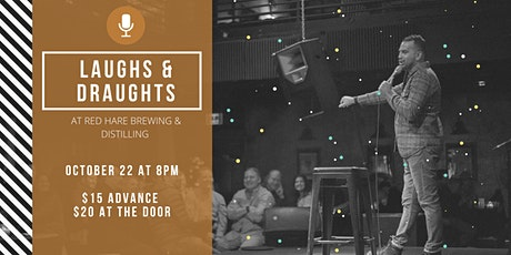 Laughs & Draughts at Red Hare Brewing and Distilling tickets