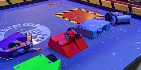 Public Event - CHAMP Makerspace Combat Robot Fight! tickets