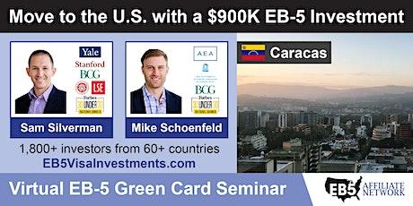 U.S. Green Card Virtual Seminar – Caracas, Venezuela boletos
