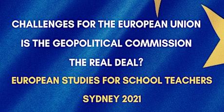 European Studies for School Teachers  - Sydney 2021 tickets