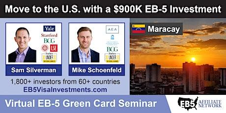 U.S. Green Card Virtual Seminar – Maracay, Venezuela boletos