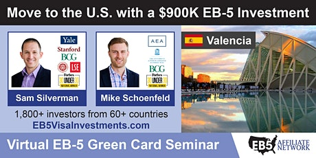 U.S. Green Card Virtual Seminar – Valencia, Venezuela boletos