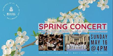 CSM Musical Meditations |Spring Concert, St. Brigid School Honor Choir tickets