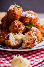 SICILIAN ARANCINI COOKING CLASS HOSTED BY FAMILY FOOD FIGHT CONTESTANTS tickets