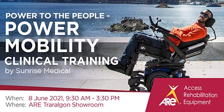 Power to the People: Power Mobility Clinical Training tickets