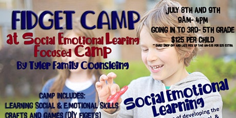 Fidget Camp at Social Emotional Learning Focused Camp tickets