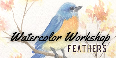 Watercolor Workshop:  Feathers tickets