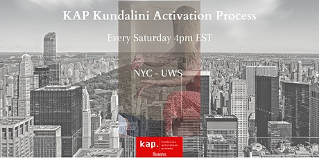 KAP Kundalini Activation Process with Susana in NYC - Open Class tickets