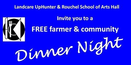 Farmer & Community Dinner Night tickets