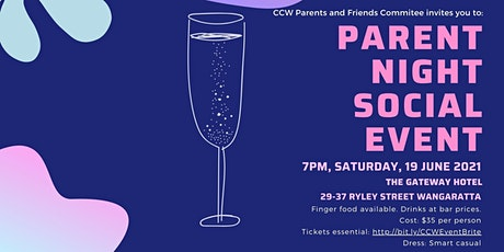 P&F Parent Night Social Event tickets
