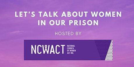 Let's talk about women in our prison tickets