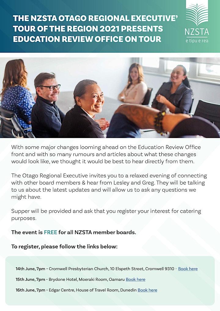 The NZSTA Otago Regional Executive' Tour of the Region 2021 - Dunedin image