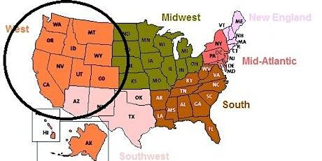 留学美国西部11州 tickets