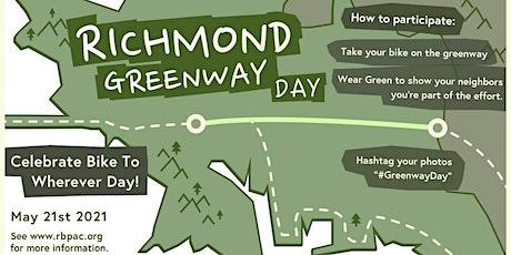 Richmond Greenway Day PM Bike Ride tickets