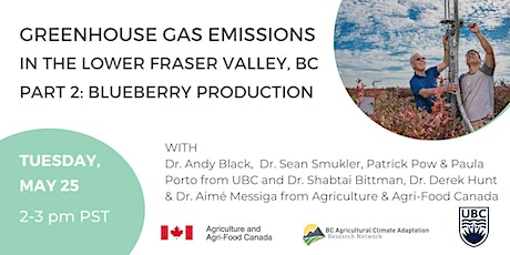 GHG emissions in the Fraser Valley, BC Part 2: Blueberry Production tickets