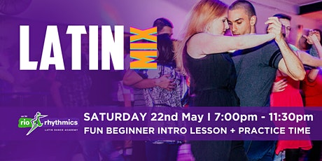 Saturday Night Latin Dance Intro Lesson & Dance Night tickets