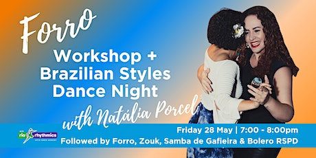 Forro Workshop + Brazilian Styles RSPD with Natália Porcel tickets