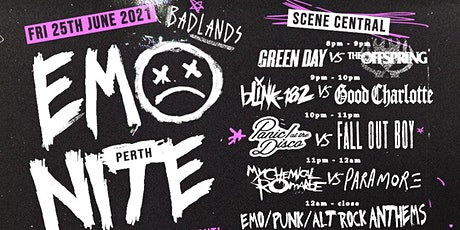 EMO NITE PERTH JUNE tickets