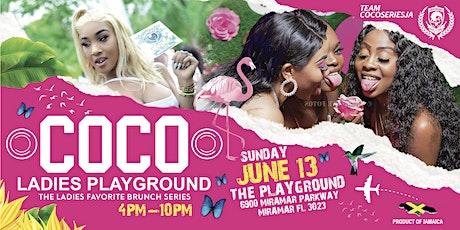 "COCO ""Ladies Playground' tickets"