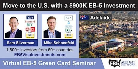 U.S. Green Card Virtual Seminar – Adelaide, Australia tickets